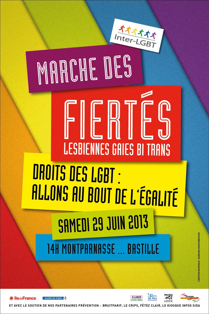 Marche des Fiertés Paris 2013