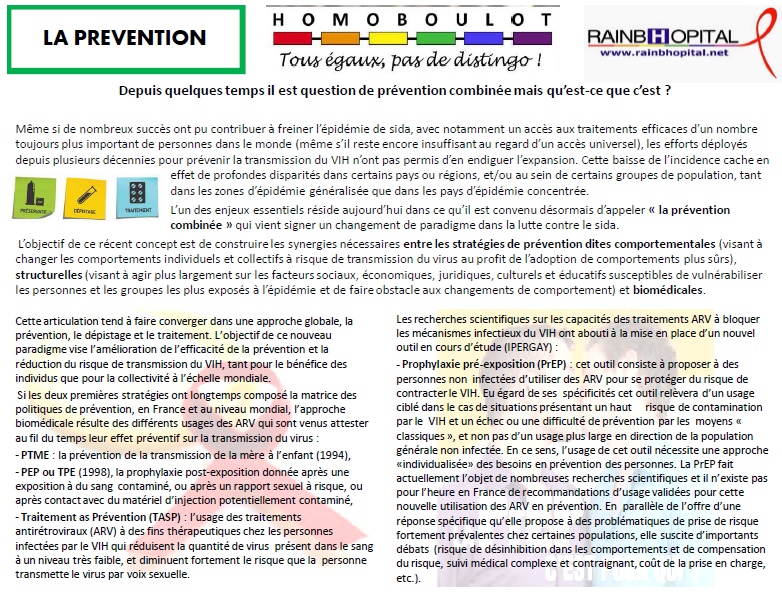 Article 1er decembre 2 LA PREVENTION